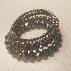 Jewelry - Rainbow bead wrap bracelet